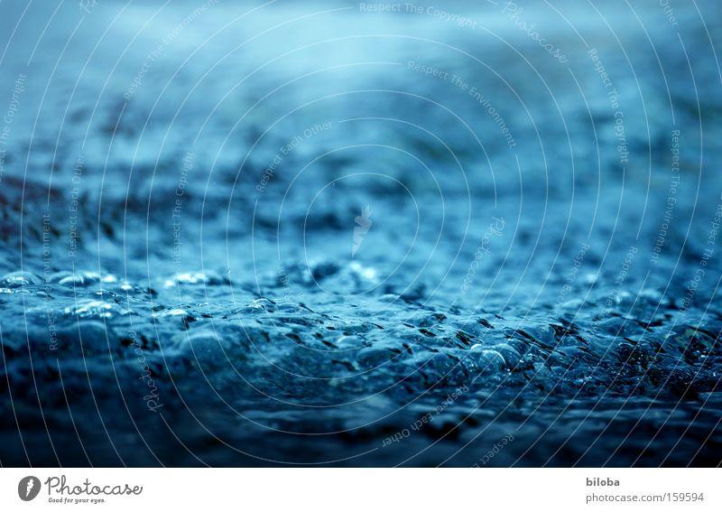 Sprudelbad Wasser blau Erholung See Hintergrundbild nass frisch Bad tauchen Vertrauen Teile u. Stücke Blase Erfrischung Gewässer sprudelnd Mineralwasser