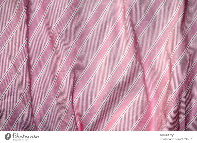 guten morgen rosa Bekleidung Stoff Wäsche Haushalt gestreift Schlafzimmer Bettwäsche Bettdecke bügeln Guten Morgen Sonntagmorgen