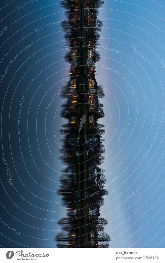 steht im liegen Stadt Architektur kalt Gebäude Zufriedenheit Skyline Altstadt Flussufer drehen Schweden bevölkert