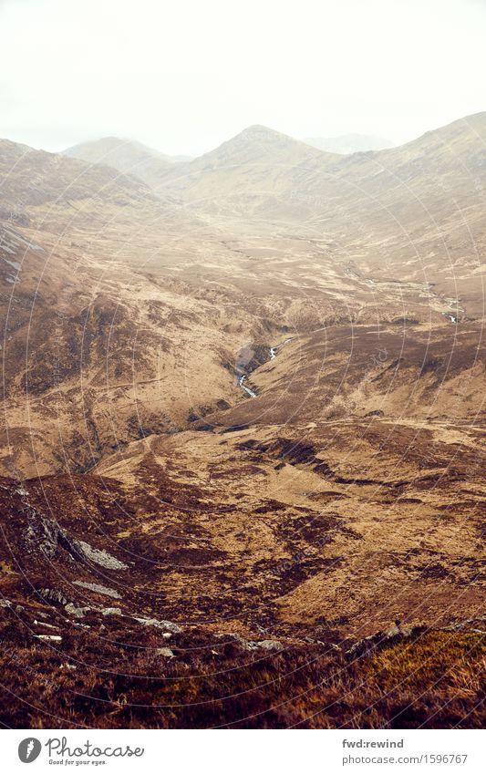 Connemara II Ferien & Urlaub & Reisen Tourismus Ausflug Abenteuer Ferne Freiheit Sightseeing Berge u. Gebirge wandern Umwelt Natur Landschaft Erde Himmel Wolken