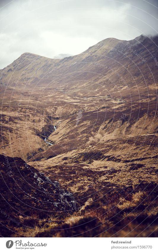 Connemara V Natur Ferien & Urlaub & Reisen Landschaft Erholung Ferne Berge u. Gebirge Umwelt Herbst Gesundheit Frühling Gras Freiheit braun Felsen Ausflug