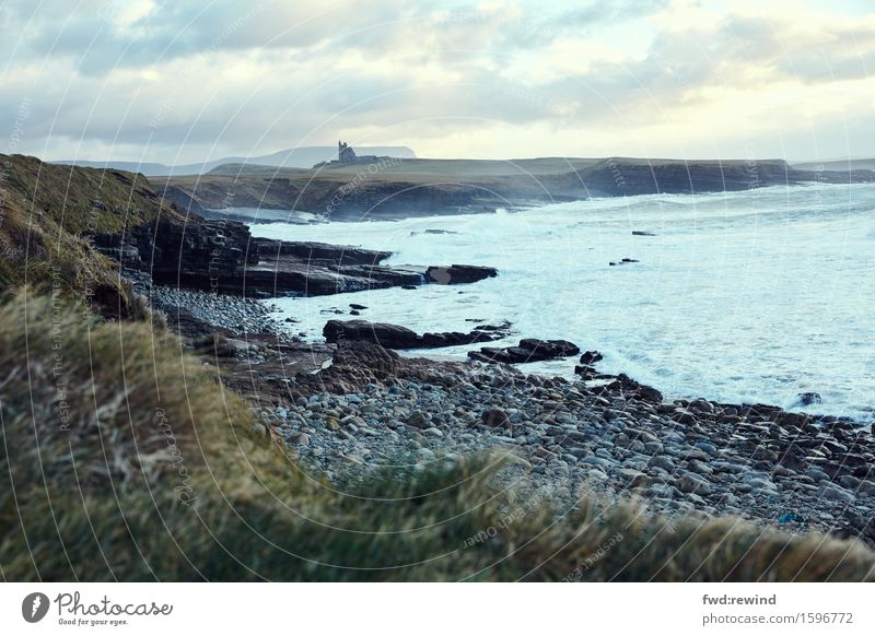 Mullaghmore Natur Ferien & Urlaub & Reisen Landschaft Meer Erholung Ferne Umwelt Küste Tourismus Freiheit Ausflug Zufriedenheit Horizont Wellen ästhetisch Kraft