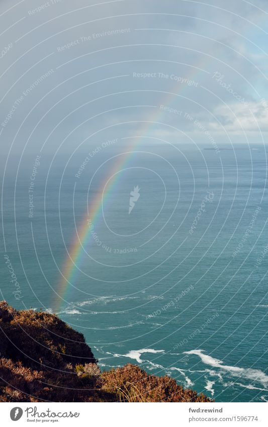 Tag am Meer Glück Ferien & Urlaub & Reisen Tourismus Ausflug Abenteuer Natur Wetter Küste Erholung genießen ästhetisch fantastisch Unendlichkeit Kitsch Stimmung