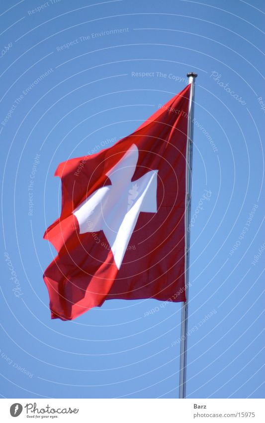 Schweizer Europa Fahne