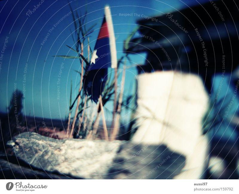Flag day rot Wind Stern (Symbol) Fahne Dekoration & Verzierung Australien wehen Beflaggung