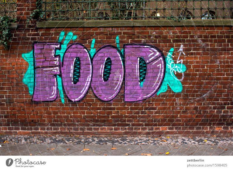 Food-Fotografie Lebensmittel Gesunde Ernährung Speise Foodfotografie Essen Graffiti Grafik u. Illustration Mediengestalter Farbe beschmiert Vandalismus Tagger