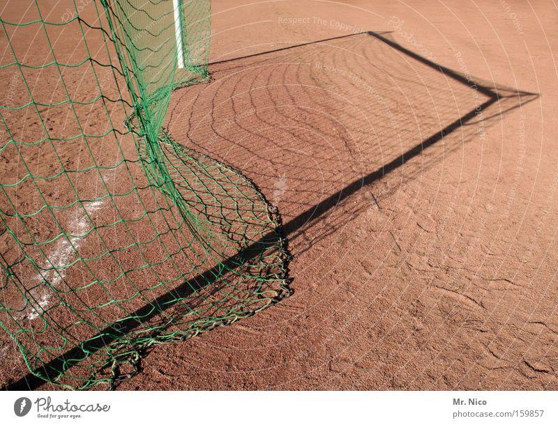 hintertorkamera Fußballtor Netz Schatten Hartplatz Kiste Torwart Pfosten Freizeit & Hobby Sportplatz Ballsport Spielen ascheplatz kreisliga treten Kasten