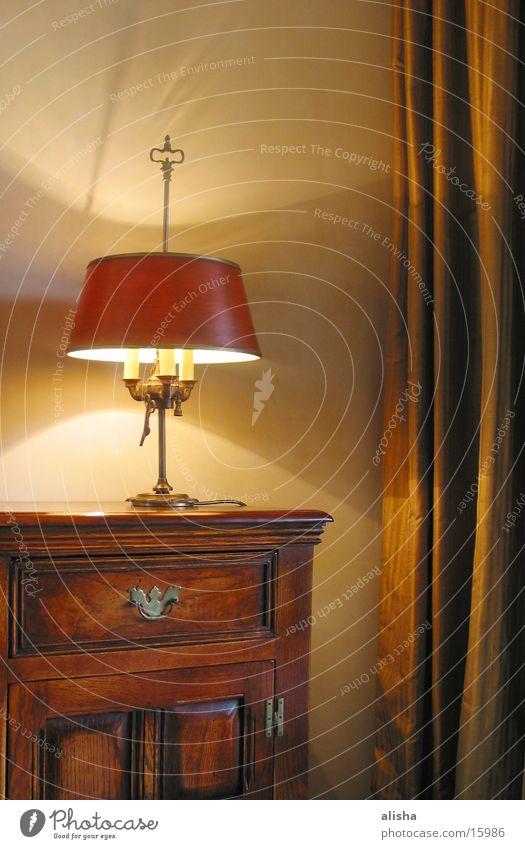 lamp Holz Häusliches Leben gemütlich Schrank
