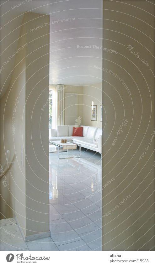 red pillow weiß Architektur Sofa Wohnzimmer