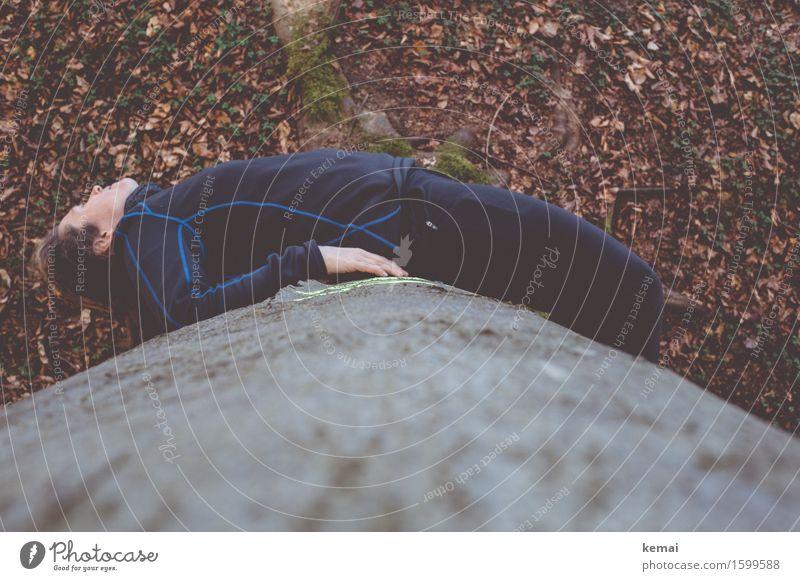 Around the tree Mensch Frau Natur Baum Erholung Blatt ruhig Freude Wald Erwachsene Umwelt Leben lustig feminin außergewöhnlich Freiheit