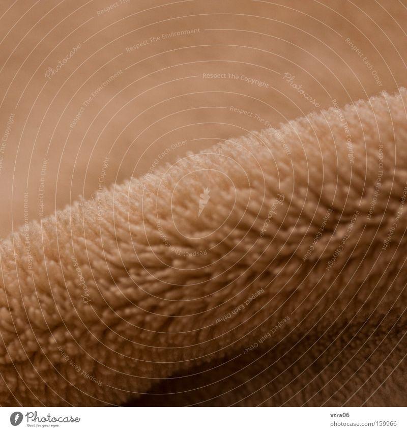 weich Hintergrundbild Material Decke beige kuschlig Wölbung