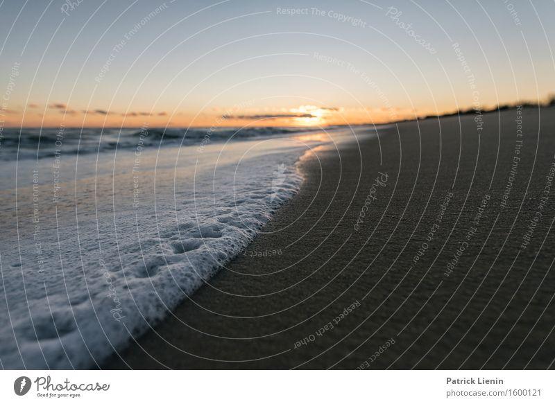 Seascape schön Ferien & Urlaub & Reisen Abenteuer Freiheit Sonne Strand Meer Wellen Umwelt Natur Landschaft Sand Himmel Wolken Sommer Klima Klimawandel Wetter