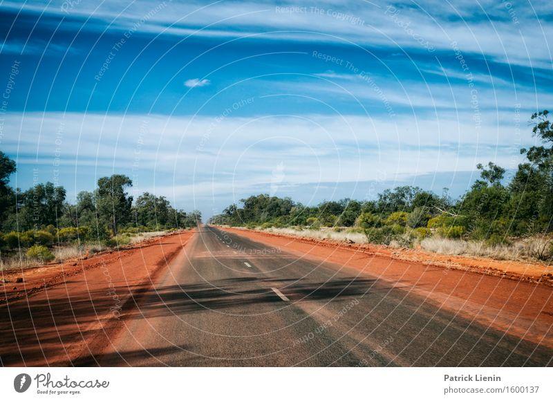 Outback Himmel Natur Ferien & Urlaub & Reisen Sommer schön Landschaft Erholung Einsamkeit Umwelt Straße Wetter Ausflug Platz Klima Abenteuer fahren