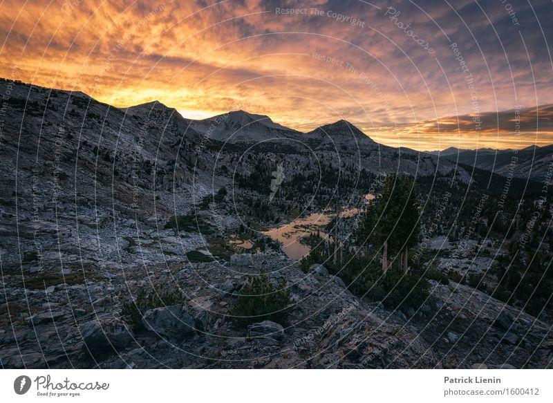 Sierra Nevada harmonisch Wohlgefühl Ferien & Urlaub & Reisen Abenteuer Sommer Berge u. Gebirge wandern Umwelt Natur Landschaft Urelemente Erde Luft Himmel