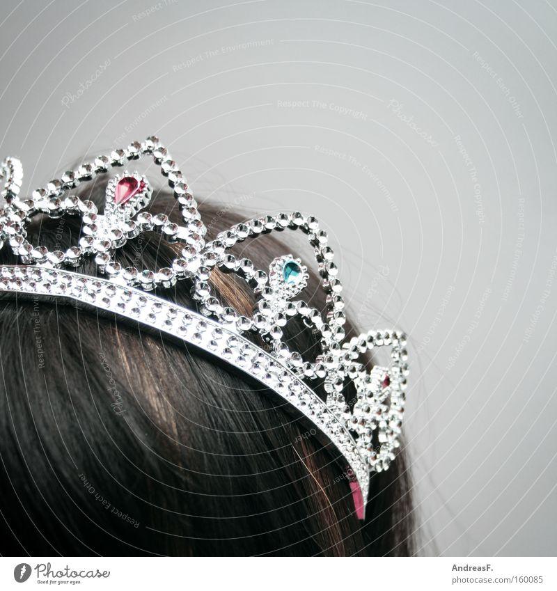Miss Photocase schön Haare & Frisuren Kopf glänzend Karneval Reichtum Schmuck Frau reich Krone Diamant Prinzessin Fräulein Adel Königlich