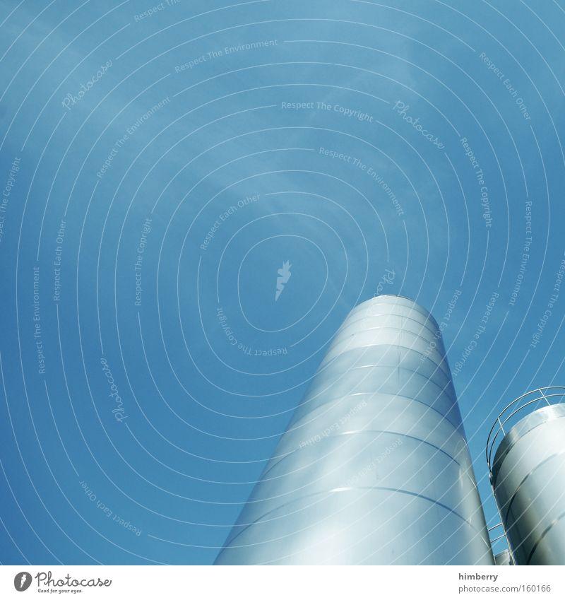 unter volldampf Energie Emission ökologisch Energiesparer Abgas Schadstoff Schornstein Industriefotografie Fabrik Gebäude Kohlendioxid Kraft Energiewirtschaft