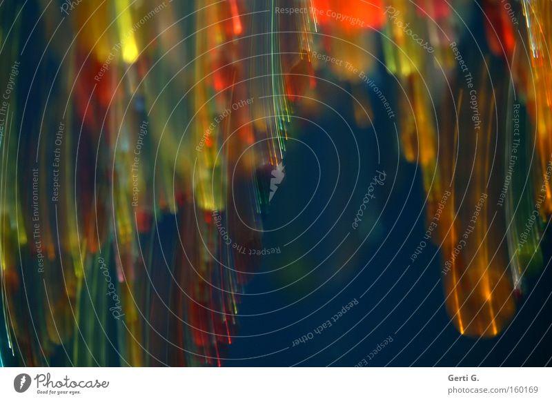 AbSicht mehrfarbig blau Linie Verzerrung Unschärfe Streifen Lampe Farbenspiel Dekoration & Verzierung Langzeitbelichtung Häusliches Leben klunkerlampe