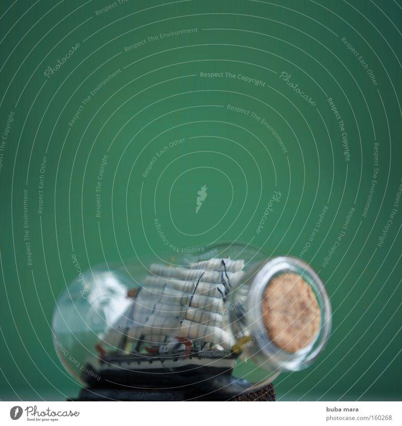 Auf grosser Fahrt Wasserfahrzeug Wind Dekoration & Verzierung Sturm Mast Souvenir Segelschiff maritim Windjammer Schoner
