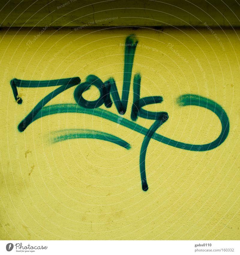 zoNk Graffiti dreckig Desaster Graz Bundesland Steiermark Tagger Vandalismus Schmiererei Wandmalereien leider
