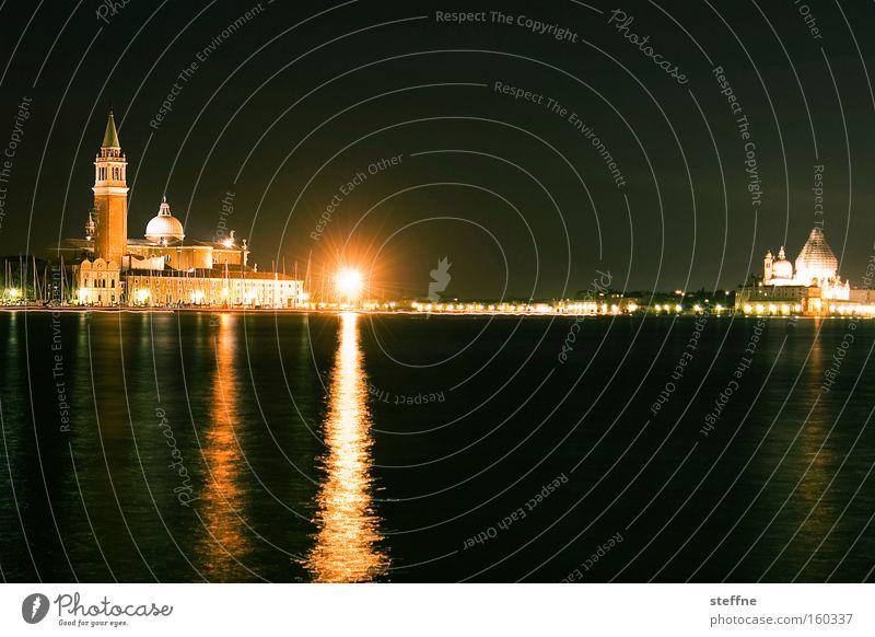 VENICE BEACH Wasser Ferien & Urlaub & Reisen ruhig dunkel Tourismus Frieden Italien Denkmal Wahrzeichen Venedig Hochwasser Gotteshäuser