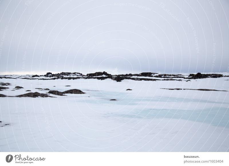 eis. Himmel Natur Ferien & Urlaub & Reisen weiß Landschaft Einsamkeit Wolken Ferne Winter kalt Umwelt Schnee Freiheit Tourismus Wetter Eis