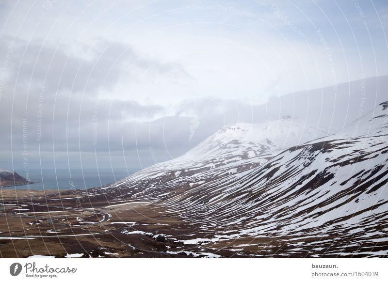_.. Natur Ferien & Urlaub & Reisen Wasser Meer Landschaft Einsamkeit Wolken Ferne Winter kalt Umwelt Schnee Küste Freiheit Tourismus Wetter