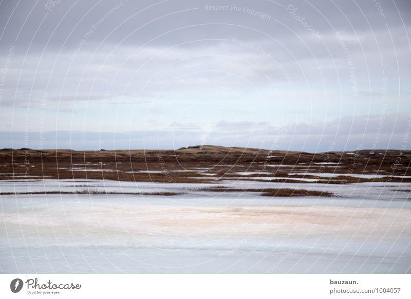 eis. Himmel Natur Ferien & Urlaub & Reisen Landschaft Wolken ruhig Ferne Winter kalt Umwelt Schnee Freiheit Tourismus träumen Wetter Eis