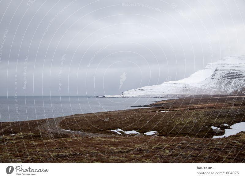 <. Himmel Natur Ferien & Urlaub & Reisen Wasser Meer Landschaft Wolken Ferne Winter kalt Umwelt Wege & Pfade Gras Schnee Küste Freiheit