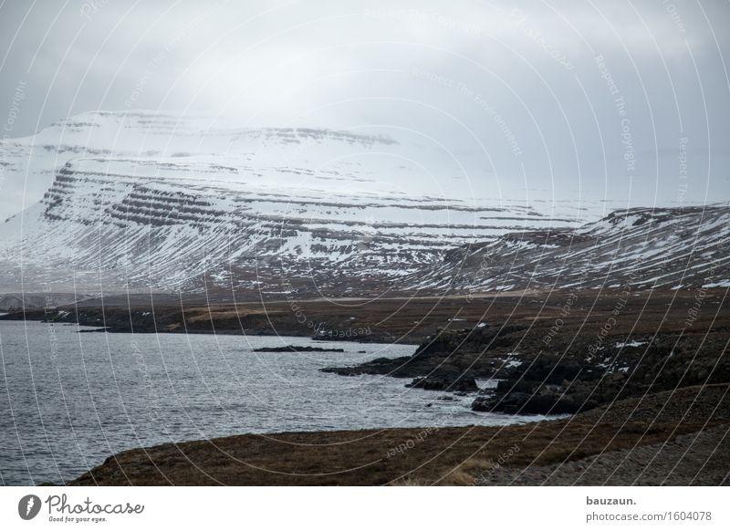 >. Himmel Natur Ferien & Urlaub & Reisen Wasser Meer Landschaft Wolken Ferne Winter Berge u. Gebirge kalt Umwelt Wege & Pfade Gras Schnee Küste