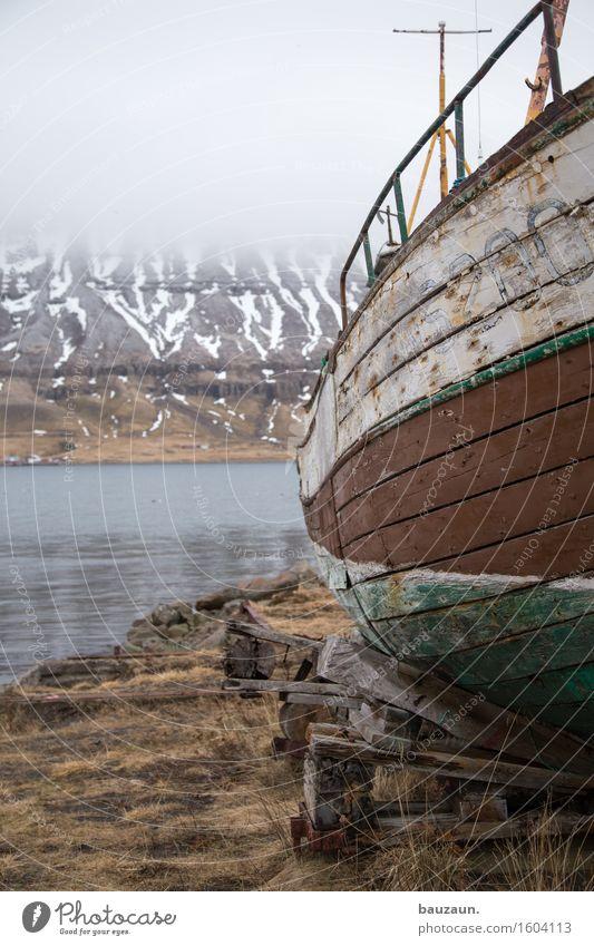 seite. Natur Ferien & Urlaub & Reisen alt Wasser Landschaft Winter Ferne Berge u. Gebirge Umwelt Senior Schnee Küste Holz Nebel Eis Ausflug