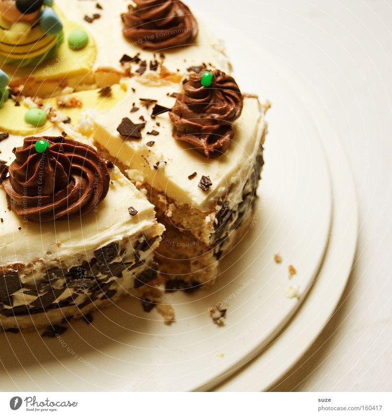 Re-Torten-Baby Feste & Feiern Lebensmittel Geburtstag Ernährung süß Appetit & Hunger Süßwaren lecker Kuchen Festessen Backwaren Torte Dessert Speise Jubiläum Sahne
