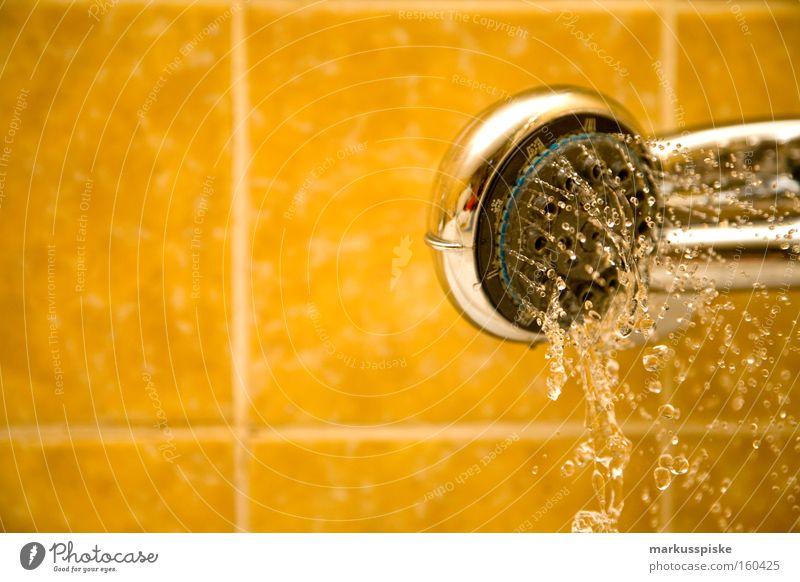 bade - tag Wasser Reinigen Bad Fliesen u. Kacheln retro Stil Schlauch Dekoration & Verzierung Wassertropfen Waschen Toilette armatur Metall