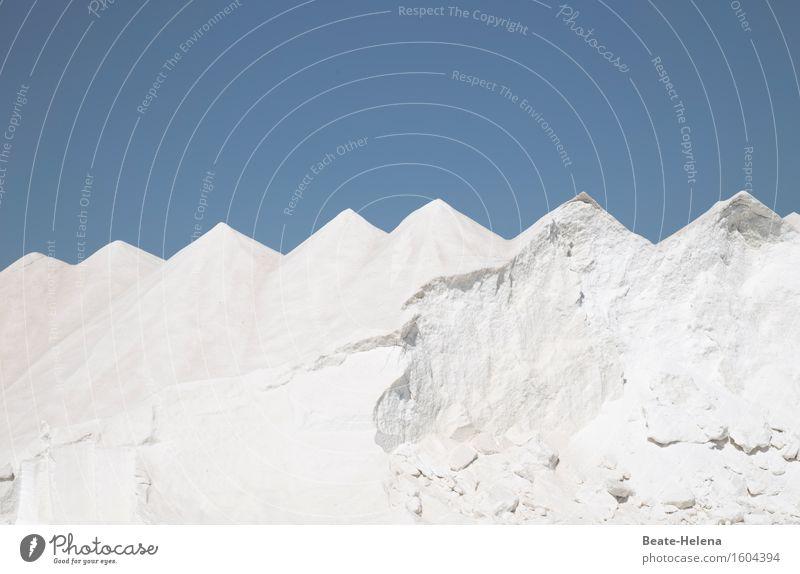 Das Salz in der Suppe Kräuter & Gewürze Natur Landschaft Urelemente Sonne Hügel Berge u. Gebirge Essen genießen ästhetisch eckig fantastisch Gesundheit Billig