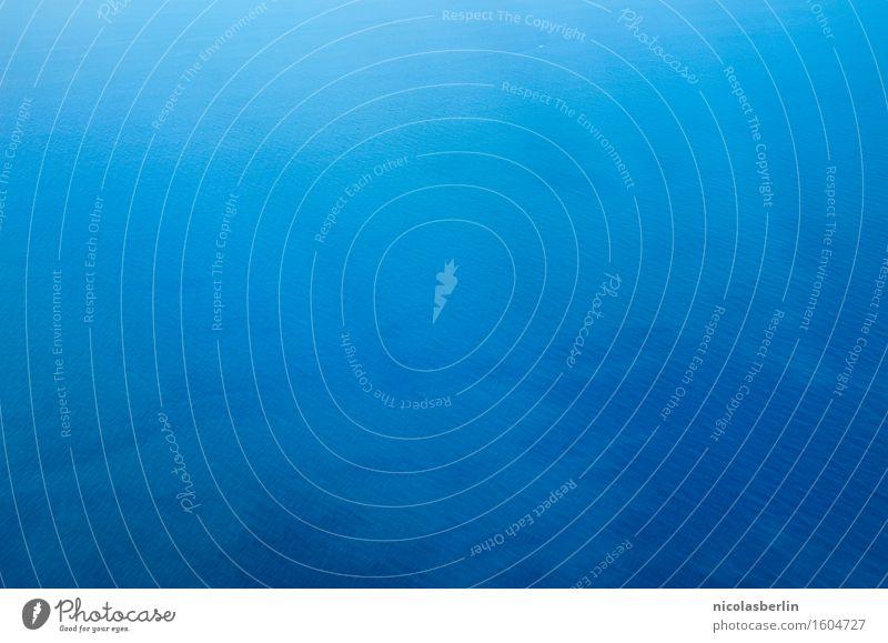 monoton | shades of blue Angeln Ferien & Urlaub & Reisen Ausflug Abenteuer Ferne Freiheit Natur Wasser Erde Klima Klimawandel Schönes Wetter Küste Strand Meer