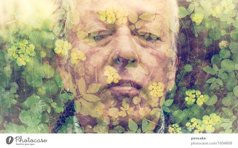 selbstportrait | die ewig gestrigen Mensch feminin Frau Erwachsene Gesicht 1 45-60 Jahre Jugendkultur Musik hören Natur Tier Frühling Pflanze Blume Grünpflanze