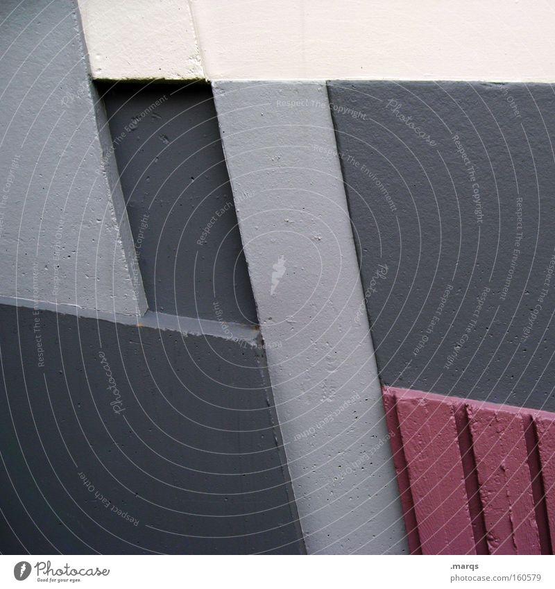 4 Grafik u. Illustration Beton zählen rechnen abstrakt Geometrie Architektur Mathematik Detailaufnahme