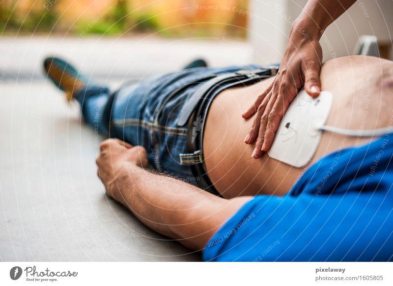 """Defibrillator-Pad Gesundheit Gesundheitswesen Behandlung Mensch 2 """"Wiederbelebung"""". Widerbelebung aed kardiopulmonale Reanimation Herzmassage Defibrillation"""