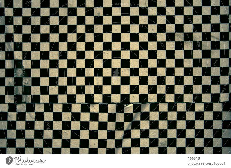 Fotonummer 115327 weiß schwarz Wand Hintergrundbild Dekoration & Verzierung Tapete Quadrat obskur Muster Anordnung graphisch kariert unordentlich Matrix ungenau