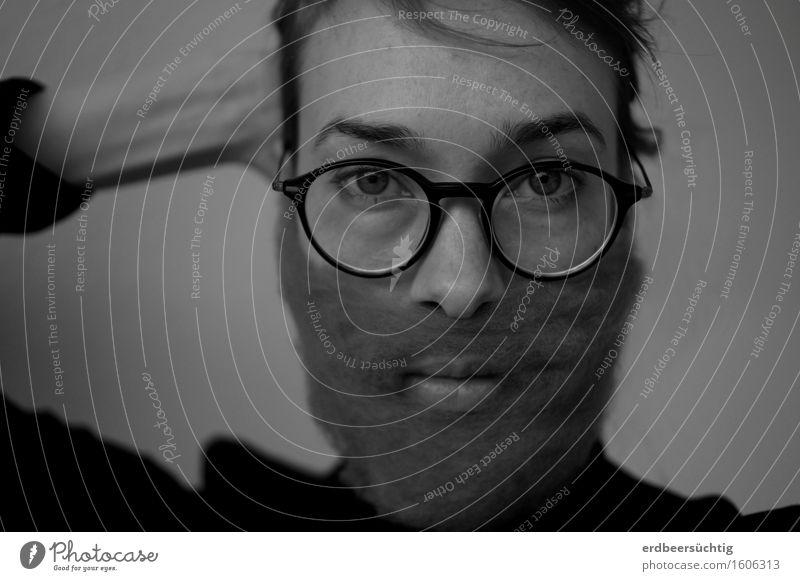 Einmal Hipster mit Bart bitte! Mensch maskulin feminin Haare & Frisuren Vollbart Stadt weich einzigartig Irritation Brille Blick Geschlecht Klischee