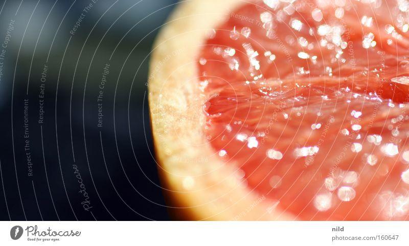 Vitaminschock Gesundheit Frucht rosa süß Wut lecker Vitamin saftig Tomate Saft Makroaufnahme Zitrusfrüchte Grapefruit