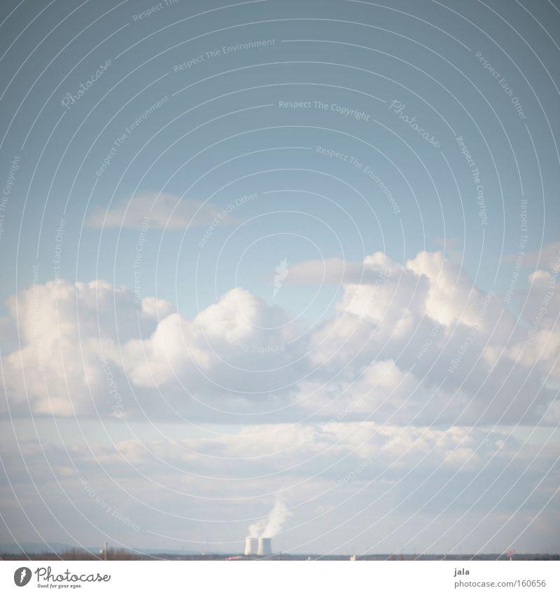 Sicher ist nur das Risiko Himmel Energie Industrie Elektrizität gefährlich Industriefotografie bedrohlich Wut Ärger Chemie Umweltschutz Umweltverschmutzung
