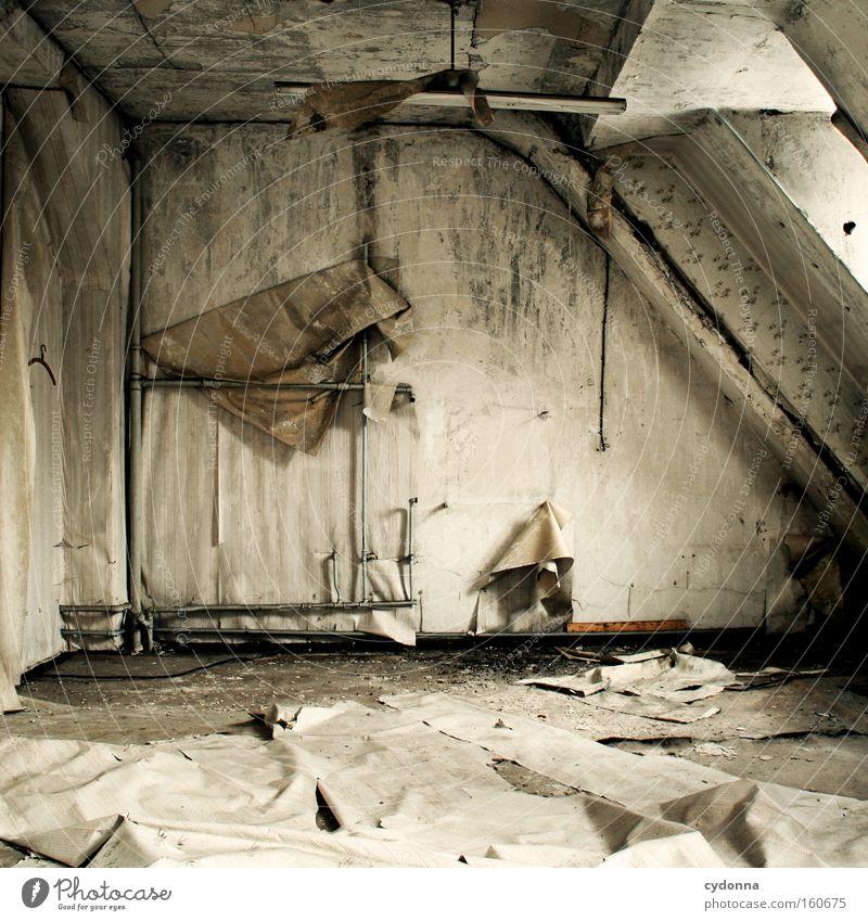 [Weimar 09] Räum mal wieder auf alt Leben Fenster Raum Zeit Häusliches Leben Vergänglichkeit Tapete verfallen Verfall chaotisch Zerstörung Erinnerung Örtlichkeit Schimmelpilze Leerstand