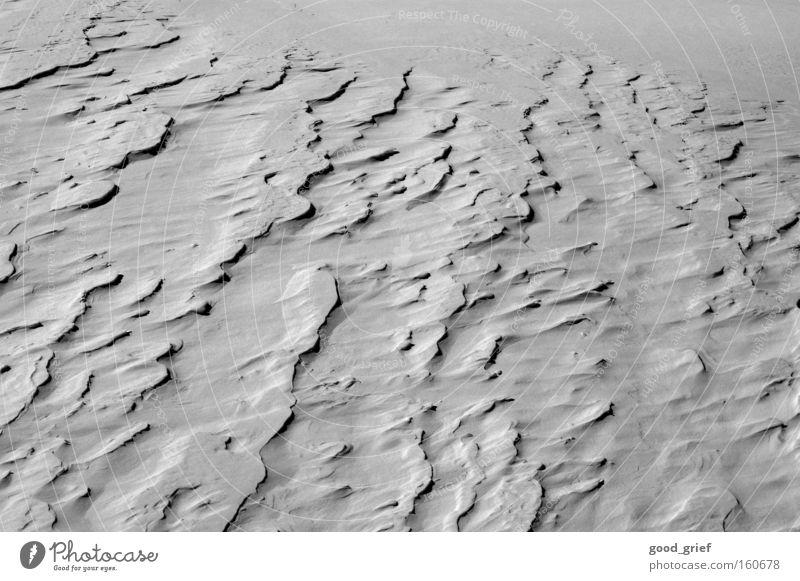 mondlandschaft Winter kalt Schnee Landschaft Wind Afrika Wüste Sturm Stranddüne