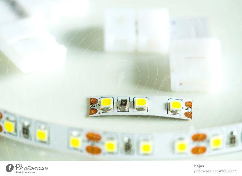 LED Lichterkette mit Verbindern sparen Lampe hell klein neu Lichtband L-Form 3528 Leuchtdiode modern Energie sparen Selbstbau Energiesparlampe Stromsparlampe