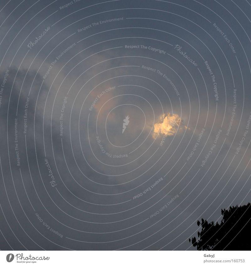 ... und am Ende war das Licht Himmel Berge u. Gebirge Nebel Gipfel verstecken Unwetter Gletscher Abendsonne Nepal Himalaya Regenwolken Hochgebirge Tunnelblick