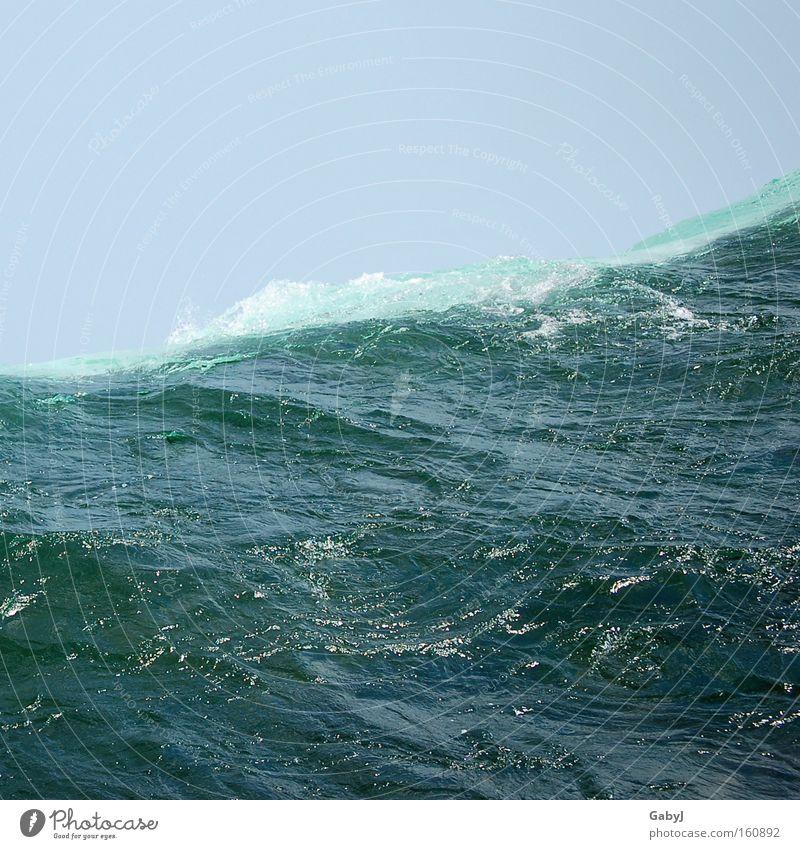 Die Kante Wasser blau Bewegung Wellen leer Elektrizität aufwärts Am Rand Wasserfall Absturz Wasserdampf Wasserwirbel Erneuerbare Energie Wasserkraftwerk