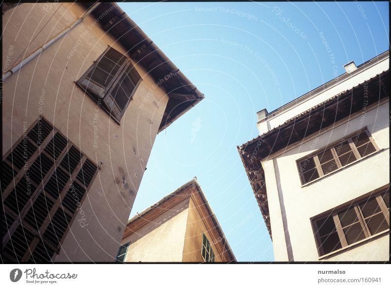 Palma ole' Palma de Mallorca Insel Mittelmeer Wärme Sommer Gasse Ferien & Urlaub & Reisen Erholung Geometrie mediterran Spanien Tourismus Ballermann Architektur
