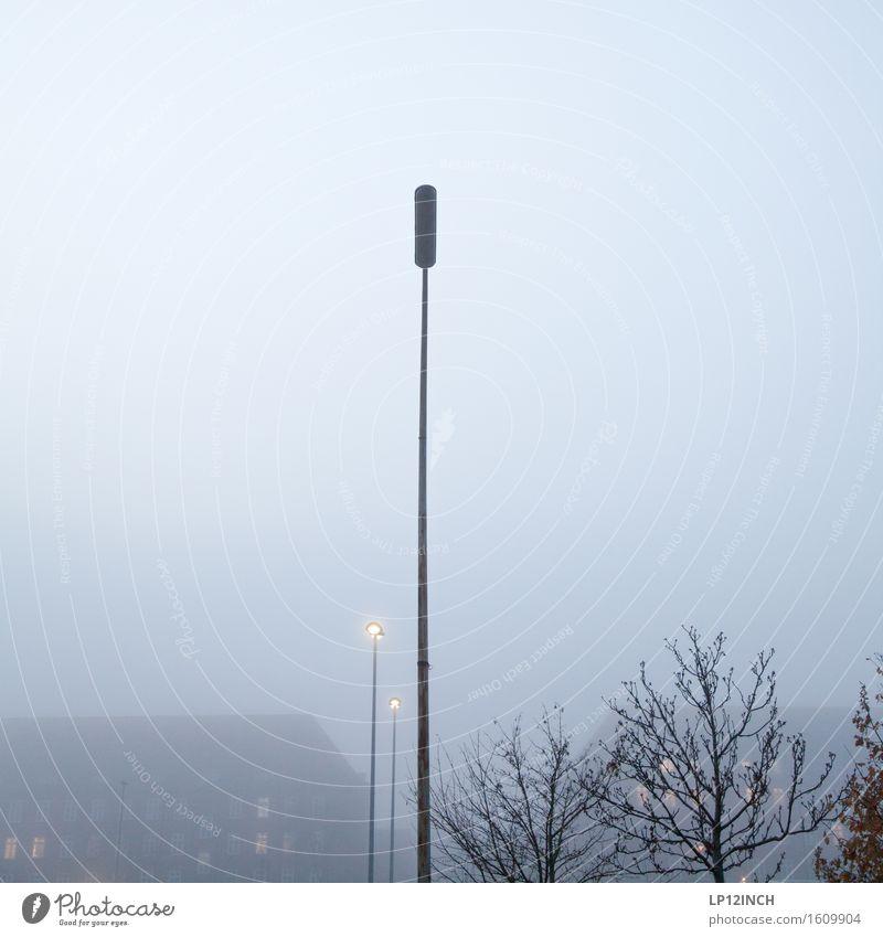 I Himmel Stadt Pflanze Baum Fenster Umwelt Wand Gebäude Mauer Stimmung Häusliches Leben Nebel Angst retro kaputt Straßenbeleuchtung