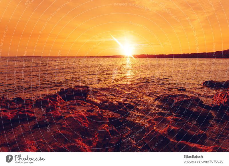 Sonnenaufgang im Paradies IV Mensch Ferien & Urlaub & Reisen Sommer Ferne Religion & Glaube Freiheit Tourismus Beginn Ausflug Schönes Wetter Abenteuer
