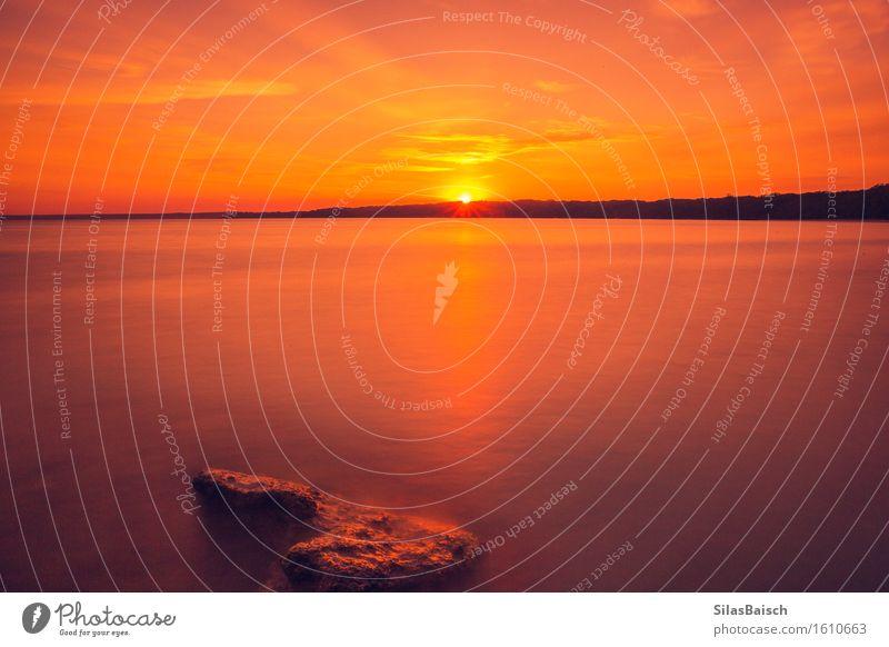 Sonnenaufgang an einem schönen Strand Lifestyle Wellness Freizeit & Hobby Angeln Jagd Ferien & Urlaub & Reisen Tourismus Ausflug Abenteuer Ferne Freiheit Safari